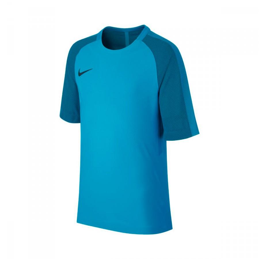 19494d20a Camiseta Nike Aeroswift Strike SS Niño Light blue fury-Armory navy - Tienda  de fútbol Fútbol Emotion