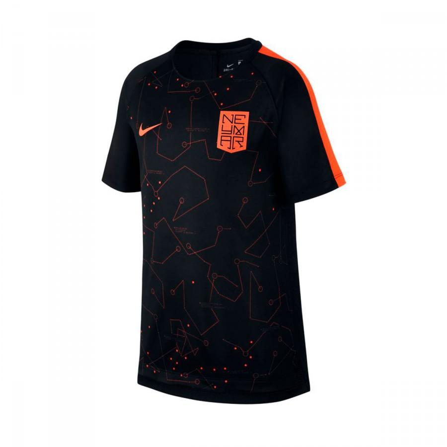 a2d650e951ba9 Jersey Nike Kids Squad Dry Neymar Jr SS GX University red-Black ...
