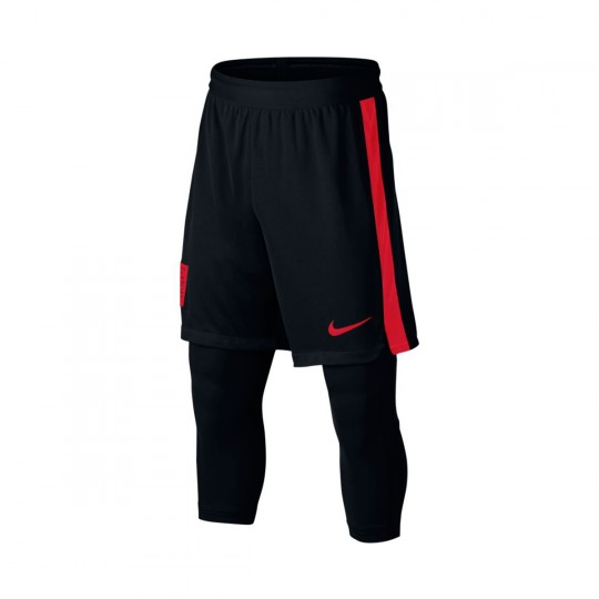 Pantalón corto  Nike Squad Dry Neymar 2IN1 Niño University red-Black