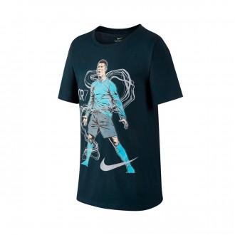 Camisola  Nike Jr Dry Ronaldo Jr Hero Armory navy