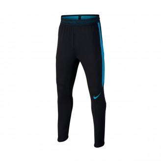Pantalón largo  Nike Strike Dry Niño Black-LT blue fury