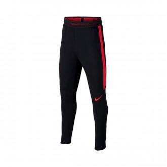 Pantalón largo  Nike Strike Dry Niño Black-University red
