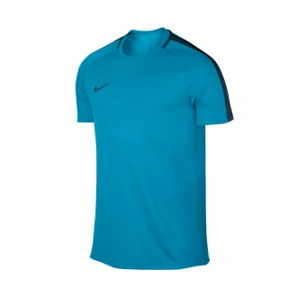 Camiseta  Nike Academy Dry SS Light blue fury-Armory navy