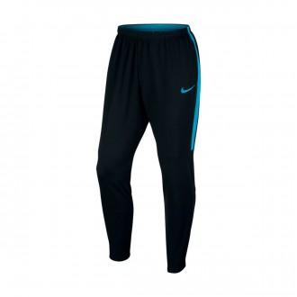 Calças  Nike Academy Dry Black-Light blue fury