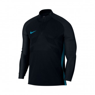 Sudadera  Nike Aeroswift Strike Dril Black-Light blue fury