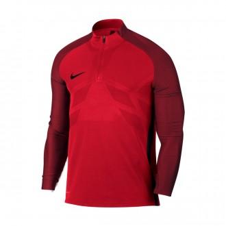 Sweatshirt  Nike Aeroswift Strike Dril University red-Black