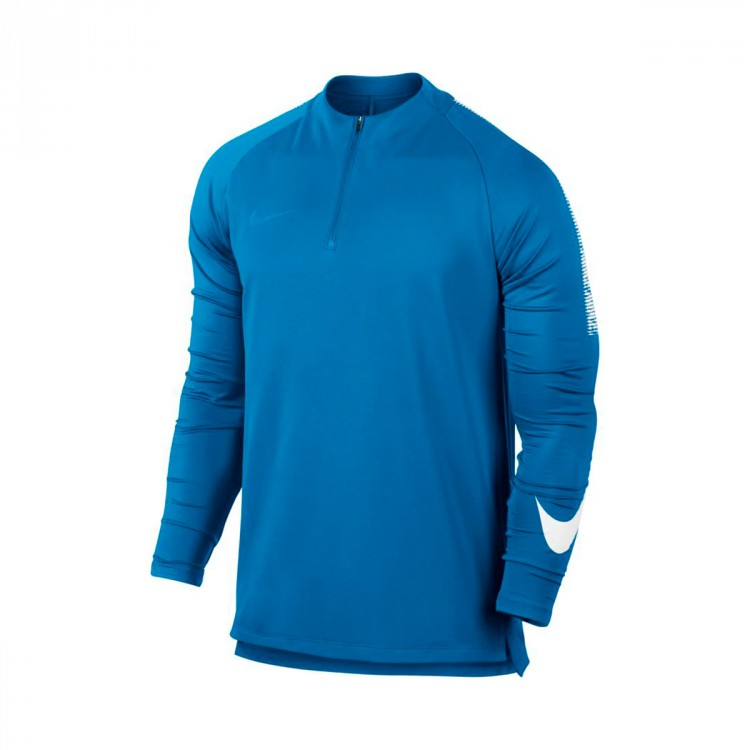 T Shirt Nike Squad Dry Italy Blue White Soloporteros Is
