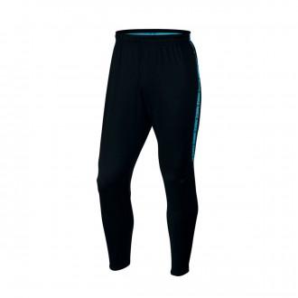 Calças  Nike Squad Dry Black-Light blue fury