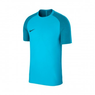 Camisola  Nike Aeroswift Strike SS Light blue fury-Armory navy