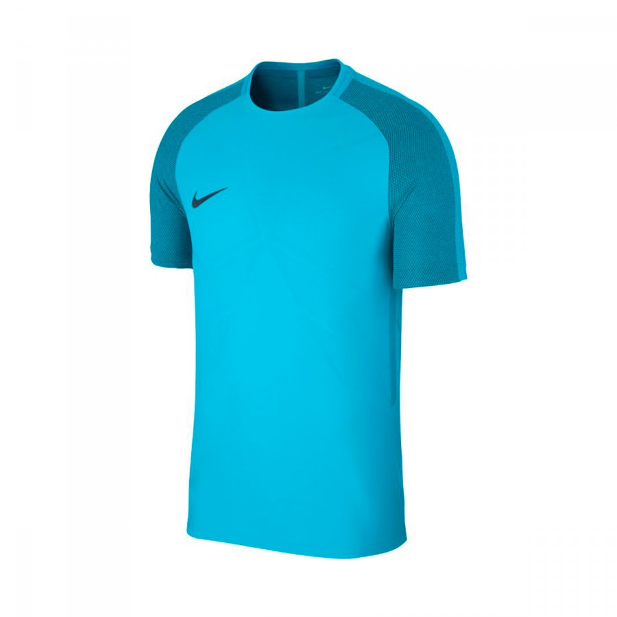 cheap for discount 12e24 69456 Camiseta Nike Aeroswift Strike SS Light blue fury-Armory navy -  Soloporteros es ahora Fútbol Emotion