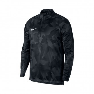 Casaco  Nike Shield Squad Dril Black-White