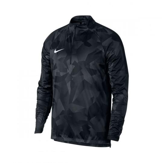 Chaqueta  Nike Shield Squad Dril Black-White