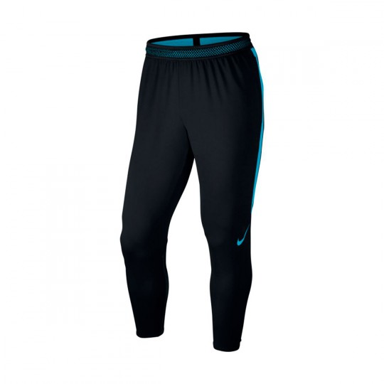Pantalón largo  Nike Strike Dry Black-Light blue fury