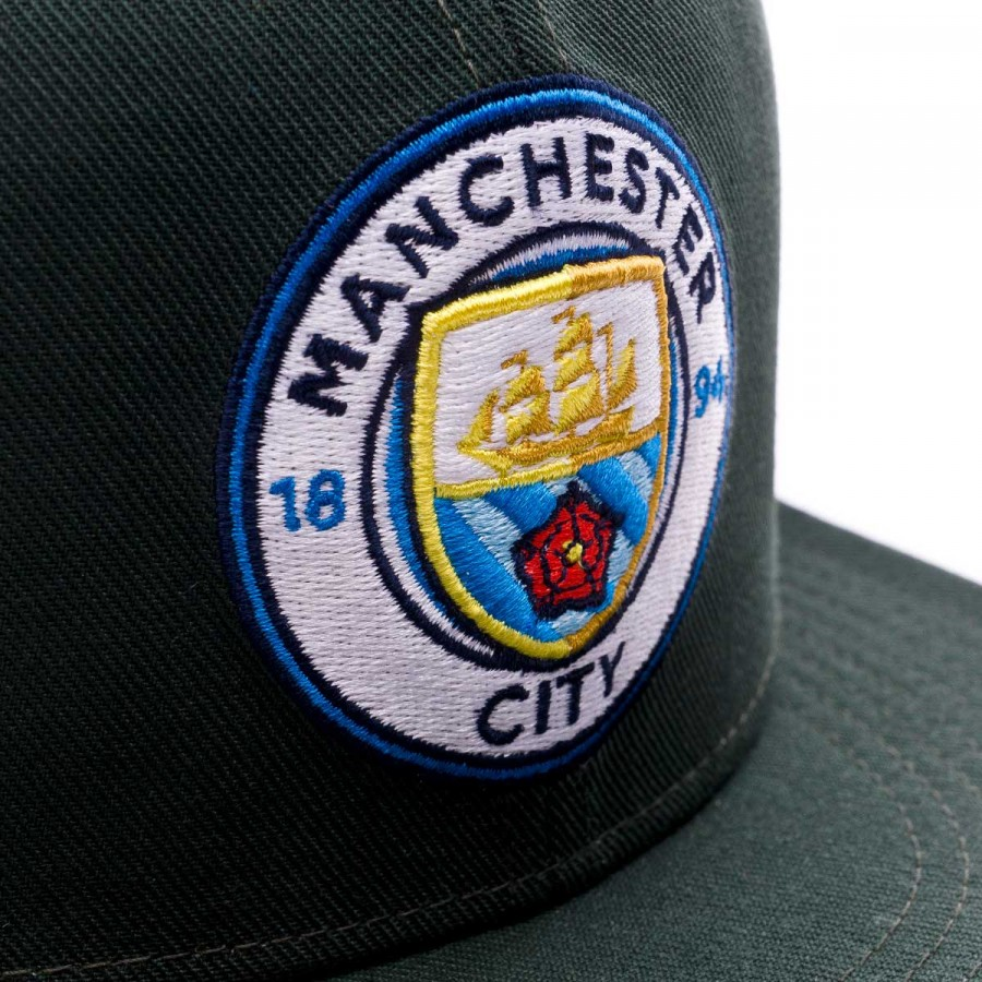738cfc53566 Cap Nike True Core Manchester City 2017-2018 Outdoor green-Field blue -  Tienda de fútbol Fútbol Emotion