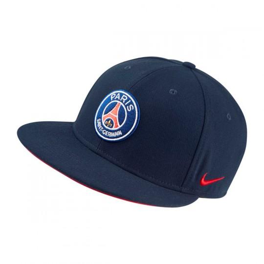 Boné  Nike True Core Paris Saint-Germain 2017-2018 Midnight navy-University red