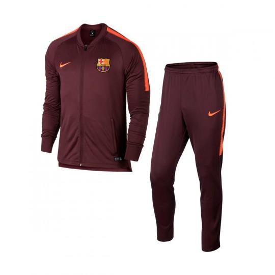 Chándal  Nike FC Barcelona Squad 2017-2018 Hyper crimson-Night maroon