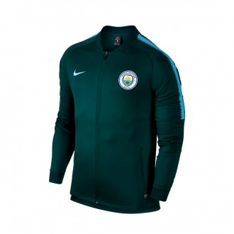 Casaco  Nike Manchester City FC Squad 2017-2018 Outdoor green-Field blue