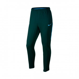 Pantalón largo  Nike Manchester City FC Squad Dry 2017-2018 Outdoor green-Field blue