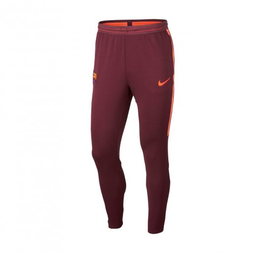 Pantalón largo  Nike FC Barcelona Strike KPZ 2017-2018 Night maroon-Hyper crimson