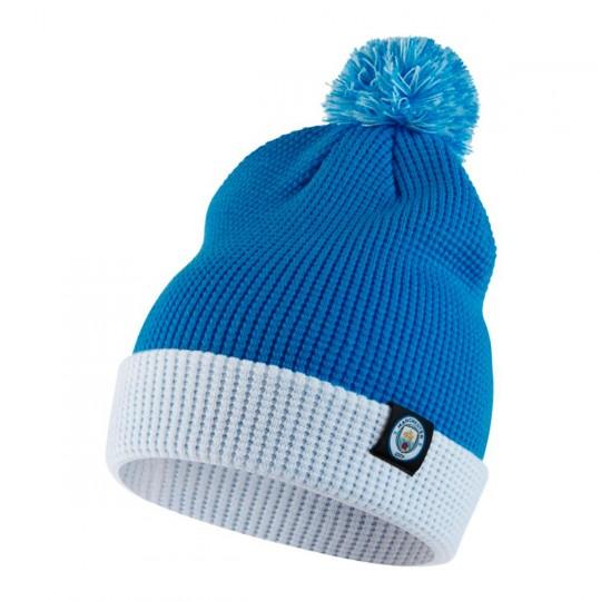 Gorro  Nike Manchester City FC 2017-2018 Field blue-White-Field blue