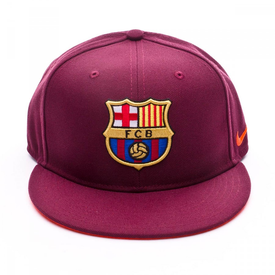 9ec2b92b7dbb1 Cap Nike FC Barcelona True Core 2017-2018 kids Night maroon-Hyper crimson -  Football store Fútbol Emotion
