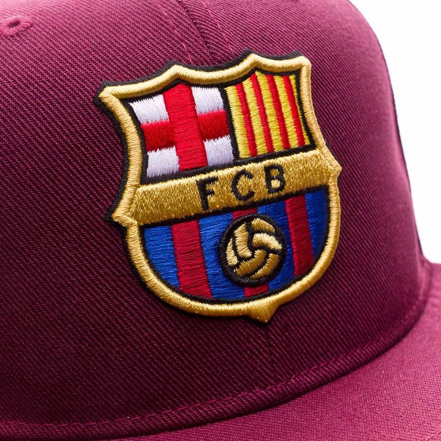 cdf3d07abf6e3 Cap Nike FC Barcelona True Core 2017-2018 kids Night maroon-Hyper crimson -  Tienda de fútbol Fútbol Emotion