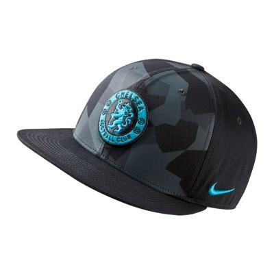 aec855c904d Cap Nike Chelsea FC true Core Premium 2017-2018 Anthracite-Cool grey-Omega  blue - Soloporteros es ahora Fútbol Emotion