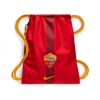 Saco  Nike Gymsack AS Roma Stadium 2017-2018 Team crimson-University gold