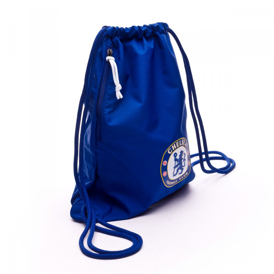 81b4bda9b8 Bag Nike Gymsack Stadium 2017-2018 Rush blue-White - Football store Fútbol  Emotion