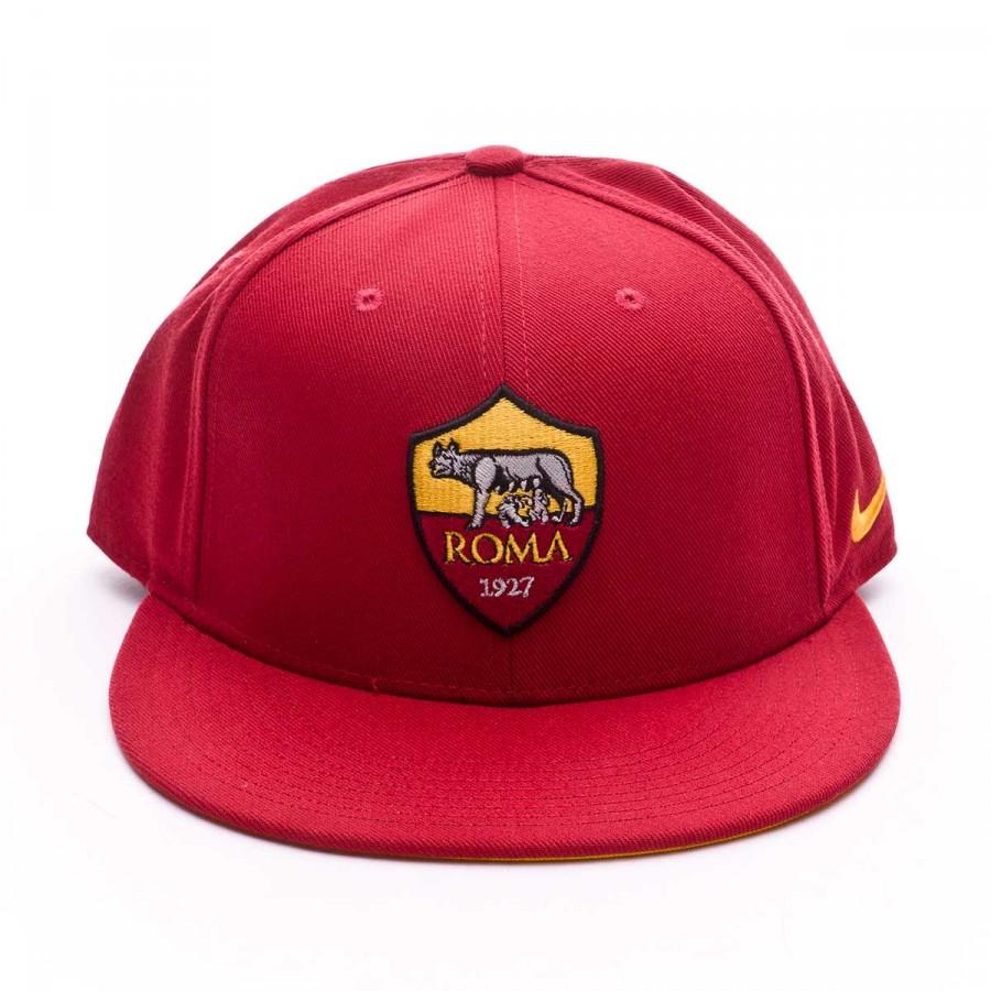 bb92189ed7955c Cap Nike AS Roma true Core 2017-2018 Team crimson-University gold - Football  store Fútbol Emotion