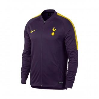 Chaqueta  Nike Tottenham FC Squad 2017-2018 Purple dynasty-Optical yellow