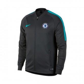 Casaco  Nike Chelsea FC Squad 2017-2018 Anthracite-Omega blue