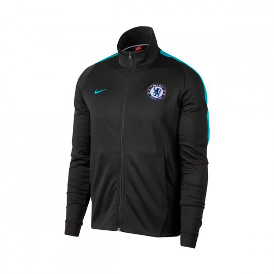 Chaqueta  Nike Chelsea FC NSW FRAN 2017-2018 Anthracite-Omega blue