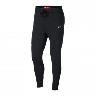 Pantalón largo  Nike Paris Saint-Germain NSW Tech Fleece Joggers 2017-2018 Black heather-Pure platinum