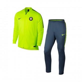 Chándal  Nike Inter Milán Squad 2017-2018 Volt-Thunder blue