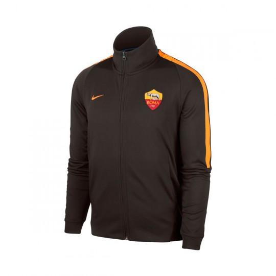 Chaqueta  Nike AS Roma NSW FRAN 2017-2018 Velvet brown-Vivid orange