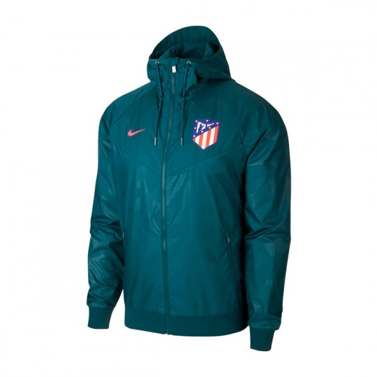 Chaqueta  Nike Atlético de Madrid NSW Woven 2017-2018 Space blue-Laser pink