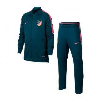 Chándal  Nike Atlético de Madrid Squad 2017-2018 Niño Space blue-Laser pink