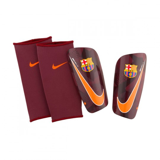 Protège tibia  Nike FC Barcelona Mercurial Lite 2017-2018 Night maroon-Hyper crimson