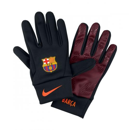 Guante  Nike FC Barcelona Stadium 2017-2018 Black-Night maroon-Hyper crimson