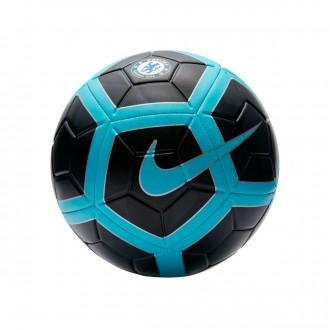 Bola de Futebol  Nike Chelsea FC Strike 2017-2018 Anthracite-Chlorine blue