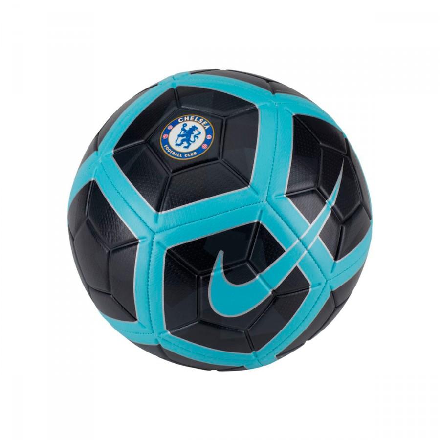 Ball Nike Chelsea FC Strike 2017-2018 Anthracite-Chlorine blue - Football  store Fútbol Emotion 5a71ae0980f20