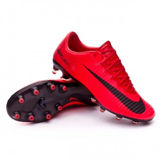 Chuteira  Nike Mercurial Vapor XI ACC AG-Pro University red-Bright crimson-Black