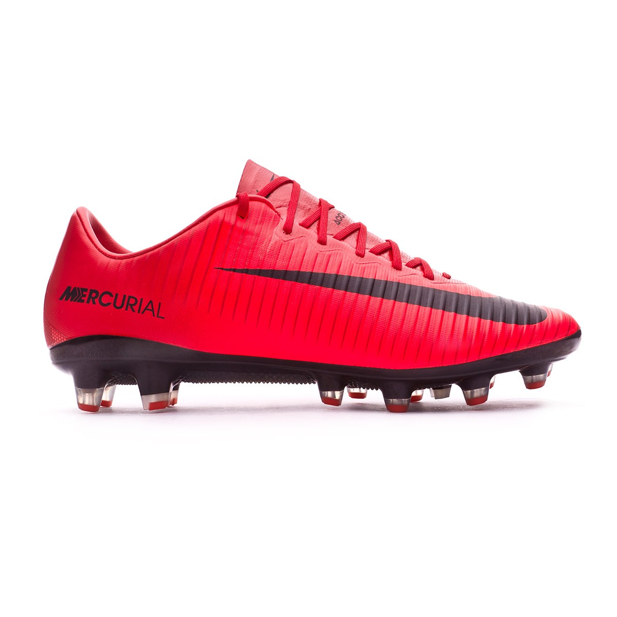 ... Bota Mercurial Vapor XI ACC AG-Pro University red-Bright crimson-Black.  Vídeo c4da72db8892a
