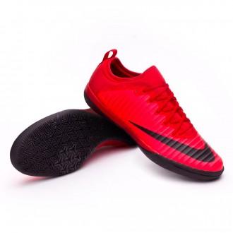 Sapatilha de Futsal  Nike MercurialX Finale II IC University red-Bright crimson-Black
