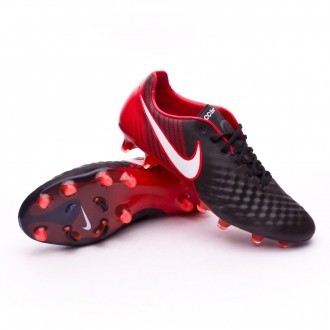 Zapatos de fútbol  Nike Magista Opus II ACC FG Black-White-University red