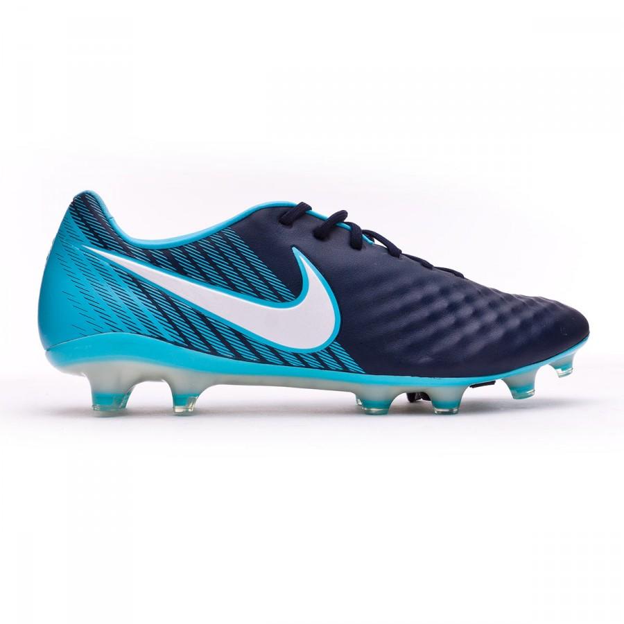 3986731a256f Football Boots Nike Magista Opus II ACC FG Glacier blue-Gamma blue-Obsidian-White  - Football store Fútbol Emotion