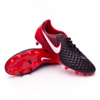 Zapatos de fútbol  Nike Magista Onda II FG Black-White-University red