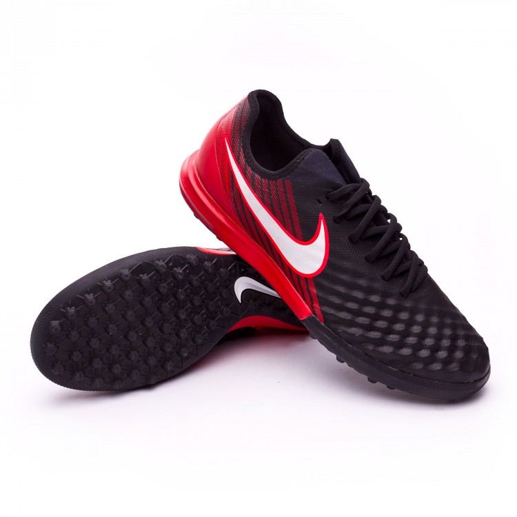 7318572f7f0 Football Boot Nike MagistaX Finale II Turf Black-White-University ...