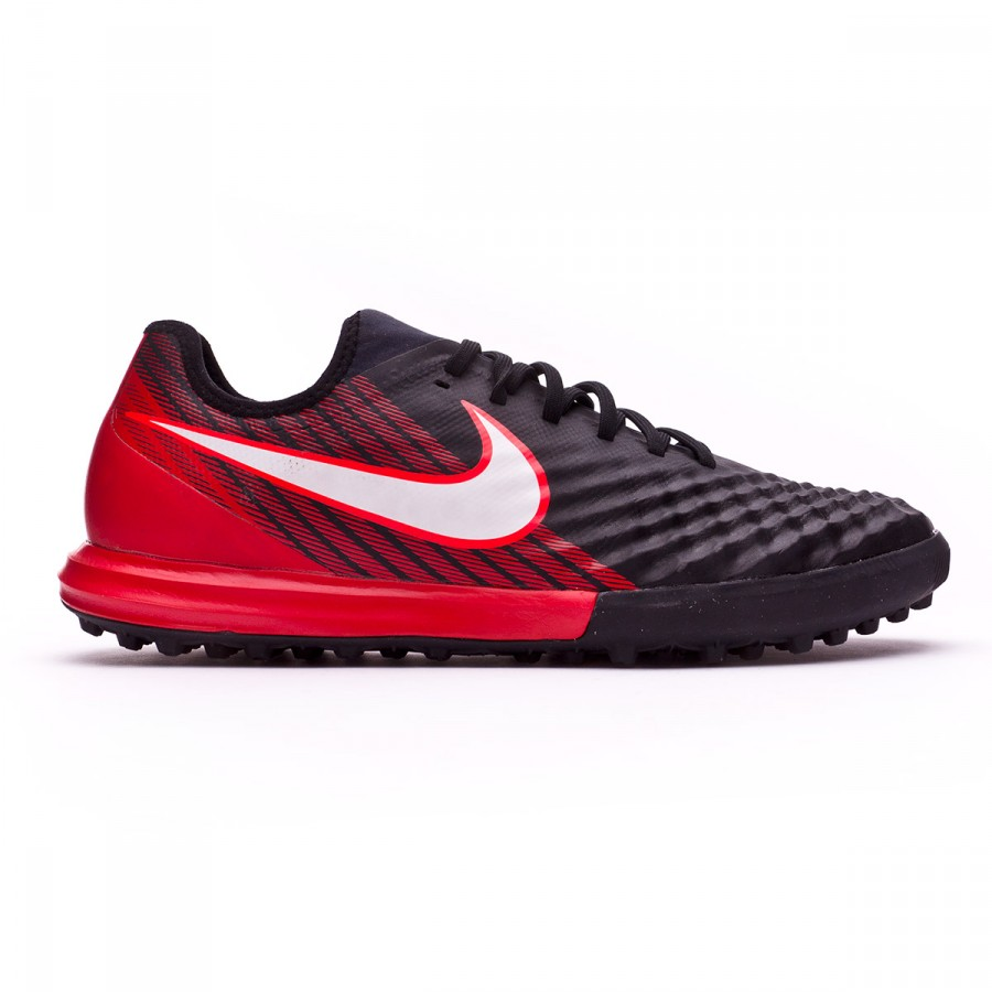 12a60f07a6b Football Boot Nike MagistaX Finale II Turf Black-White-University red -  Football store Fútbol Emotion